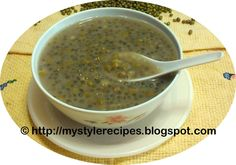 My Style of Recipes: Green Bean Soup/Mung Bean Soup|Chinese Dessert Recipe