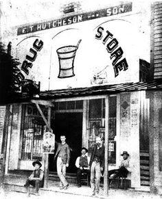 HUTCHESON DRUG STORE, MAGNOLIA, AR. CIRCA 1883 — in Magnolia, AR.