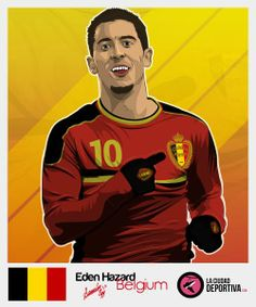 Hazard http://www.akyanyme.com/index.php/es/portafolio/fanart/stickers-brazil-2014/264-sticker-brazil-2014-v18 » 378 awesome cards » #StickersProject #Brasil2014 #WorldCup