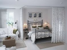 One room flat_sleeping area_room seperator_ideas_inspiration Witz love