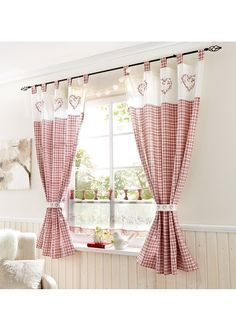There are different types of curtains with different concepts, for example, in this picture you can make the curtains of your favorite cooking area curtains for windows # kitchen curtains # kitchen curtains inspirations # kitchen curtains ideas Kitchen Curtains And Valances, Home Curtains, Farmhouse Curtains, Rustic Curtains, Bathroom Curtains, Cheap Curtains, Nursery Curtains, Country Curtains, Curtains Living