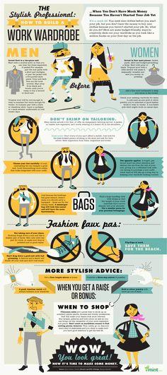 Dress for Job Success #infografía