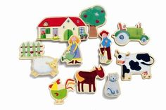 Djeco / Wooden Magnet Play Set, Farm by Djeco, http://www.amazon.com/dp/B000O1379G/ref=cm_sw_r_pi_dp_GygTqb1AQ3275