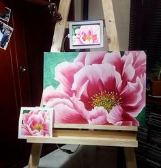 How to paint blooms Easy Flower Painting, Large Painting, Fabric Painting, Painting & Drawing, Flower Art, Acrylic Flowers, Watercolor Flowers, Watercolor Paintings, Acrilic Paintings