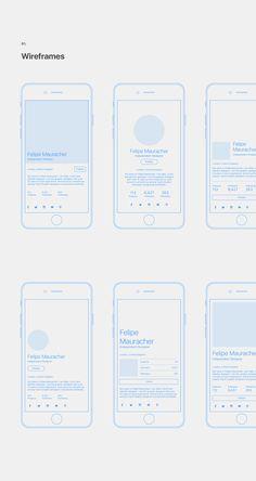 User Profile Concept on Behance