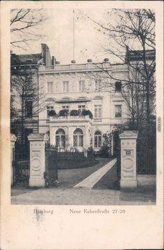 Ansichtskarten-Lexikon :: Villa - Neue Rabenstraße 27-28 :: Eimsbüttel-Hamburg