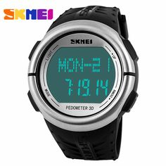 Buy now  Skmei Sports Watches Pedometer Heart Rate Monitor Calories Counter Digital Watch Fitness For Men Women Outdoor Wristwatches just only $14.45 with free shipping worldwide  #menwatches Plese click on picture to see our special price for you