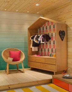 NaToca deu uma conferida na mostra de decoração MORAR MAIS, no Rio de Janeiro. Nos quartos de criança, tem cama de casinha, tenda e armário com estampa.