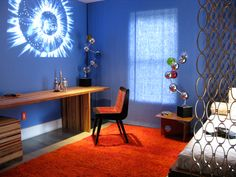 boys room science themed | DesignOdyssey: 2Michaels Design