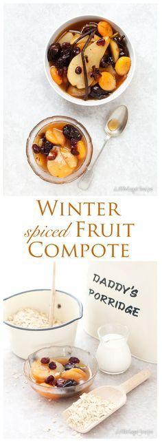 Spiced Fruit Compote