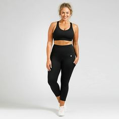 """Activewear For Every Body on Instagram: """"𝗜𝘁'𝘀 𝗮𝗹𝗹 𝗶𝗻 𝘁𝗵𝗲 𝗱𝗲𝘁𝗮𝗶𝗹𝘀 👌🏼 From hidden pockets to stylish details, these design features make our tights an absolute game-changer. …"""" Workout Session, Summer Wardrobe, Perfect Fit, Active Wear, Tights, Sporty, Stylish, Pockets, Model"""