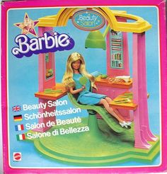 The One and Only Mattel Barbie 1978 A Frame DreamHouse Website For Devoted Fans: March 2010 Dream Doll, Barbie Dream House, Custom Barbie, Barbie Playsets, Pink Vanity, Pink Houses, Mattel Barbie, Tv Commercials, One And Only
