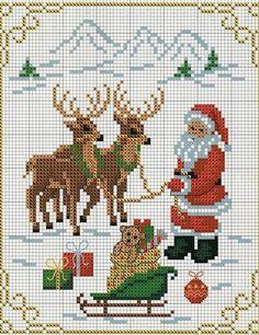 Интерьерные вещицы ручной работы, винтаж, декор Xmas Cross Stitch, Counted Cross Stitch Patterns, Cross Stitch Charts, Cross Stitching, Cross Stitch Embroidery, Christmas Sewing, Christmas Embroidery, Christmas Cross, Brazilian Embroidery