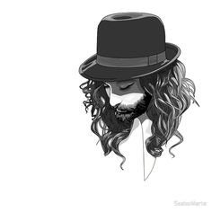 Conchita in the hat