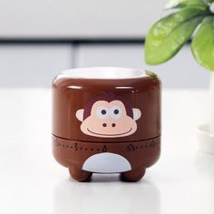 Cartoon Mechanical Kitchen Timer Alarm Clock