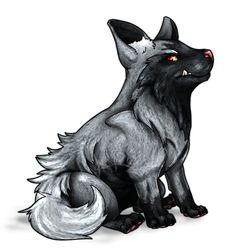 261 - Poochyena by *Narsilion on deviantART