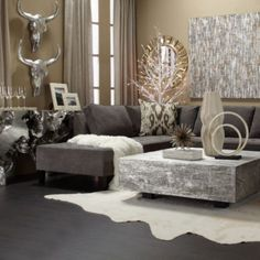 Z Gallerie Bathing Beauty Interiors Living Room