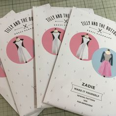 We've had another exciting delivery. The brand new Zadie dress pattern from Tilly and the Buttons. Can't wait to make mine. Leanne 😊 #tillyandthebuttons #zadie #dressmaking #sewing #pattern