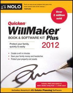 #Quicken Willmaker Plus 2012 Edition: Book
