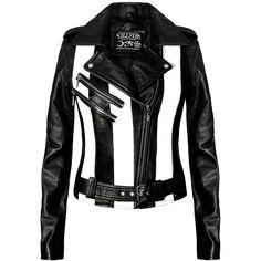 KillStar Beetlejuice Leather Jacket