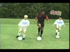 Soccer Training for Kids 7-12 Workout to Music - YouTube