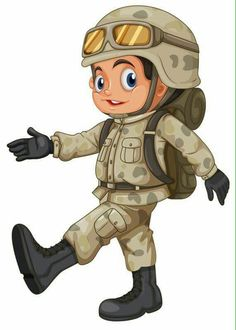 View album on Yandex. Cartoon Cartoon, Cartoon Characters, Military Party, Army Party, Activities For Kids, Infant Activities, Flashcards For Kids, School Clipart, Kids Learning
