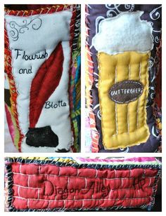 """""""I just found my next project... Harry Potter quilt!"""" Someone should make this for me. That would be fantastic."""