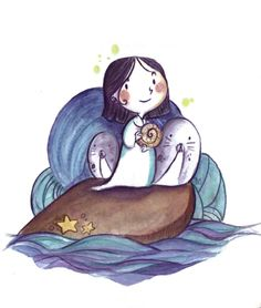 Song of the Sea: Photo Animation Film, Disney Animation, Baby Harp Seal, Song Of The Sea, Disney Animated Films, Movies Playing, Fall Wallpaper, Sea Art, Illustration Art