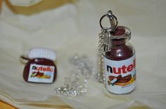 ring and pendant with Nutella