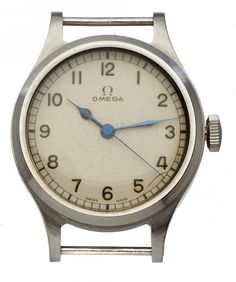 Mellors & Kirk is one of the leading regional Fine Art Auctioneers, and has over 20 years' experience holding regular auctions of antiques & fine art. Royal Air Force, Ministry, Omega, British, Stainless Steel, Watches, Clocks, Clock, England