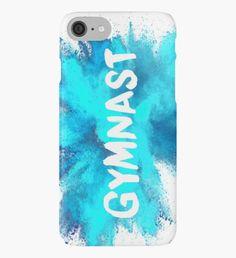 Gymnast - Blue Explosion iPhone Case/Skin