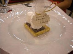 S'more Favors {free template} Woodsy Wedding, Wedding Tags, Our Wedding, Wedding Ideas, Wedding Stuff, Shabby Chic Shower, Event Planning, Wedding Planning, May Weddings