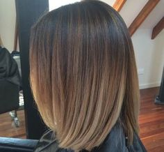 Very well natural weaving balayage of orangey toned brown & gold #avedaibw