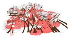 "Adam Karig Haynes - Banksgiving 14"" x 25"""