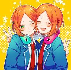 埋め込み Cute Anime Boy, Kawaii Anime Girl, Anime Guys, Otaku Anime, Anime Manga, Anime Art, Star Character, Rainbow Light, Ensemble Stars