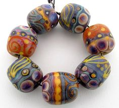 glass beads by Gabriele Servayge