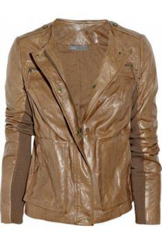 VinceVintage-leather jacket