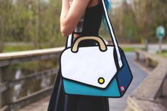 """Sacs au look """"cartoon"""" ! """"Jump from paper"""" bag ; I want one"""