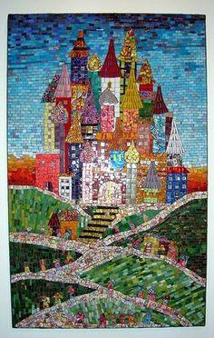 Leslie Conlee ~ Castle of Kioski Mosaic