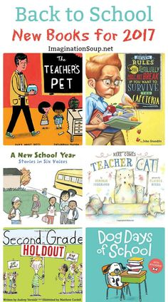 Each year about this time, we discover the new back to school picture books. Teachers and parents, you'll find lots of great choices for 2017. They all will be enjoyed by children; perfect for reading aloud.