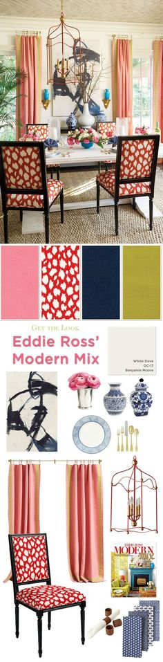 Get the Look: Eddie Ross' Dining Room | How To Decorate | Bloglovin'