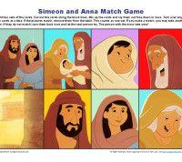 Simeon and Anna Matching Game