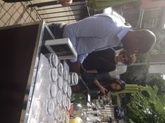 Hudson Kitchen hosted a media party on June 2014 to open its summer patio. Chef Robbie served barbeque bites while head bartender Jay Meyers mixed cocktails. Served Up, Bartender, Barbecue, Toronto, Bliss, Restaurants, Patio, Kitchen, Diners