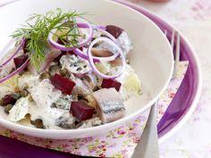 Haringsalade met aardappel en bietjes - Libelle Lekker!