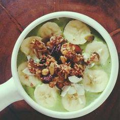 Green Chia Smoothie Bowl