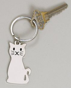 Hey, I found this really awesome Etsy listing at https://www.etsy.com/listing/195861818/cat-key-chain-engraved-free-high-quality