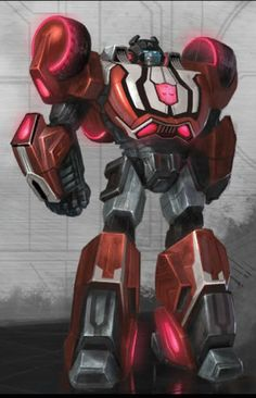Transformers Fall of Cybertron Sideswipe