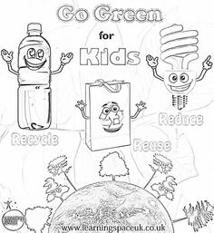 going green coloring pages   20 Best Energy images   Teaching science, Science ...