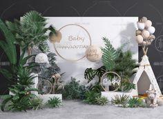 3d Model Decorative Set 130 Free Download Wedding Backdrop Design, Wedding Hall Decorations, Wedding Entrance, Wedding Stage, 3d Wall Decor, Flower Installation, Safari Party, Boy Birthday Parties, Event Decor
