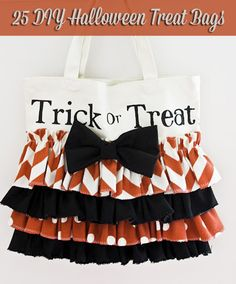 duck tape trick or treat bags | 25 DIY Halloween Trick-or-Treat Bags & Totes